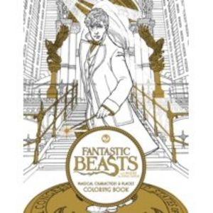Adult Coloring Book: Fantastic Beasts
